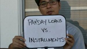 Differences b/w payday loans & installment loans