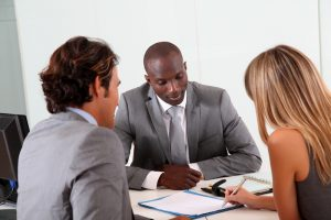 lender inquiring borrower's financial situation