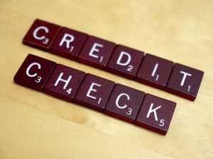 Look for credit checks