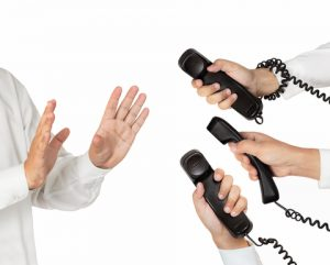 embarrassing phone calls at work